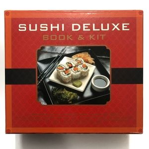 Other - Sushi Deluxe Book & Kit with Accessories